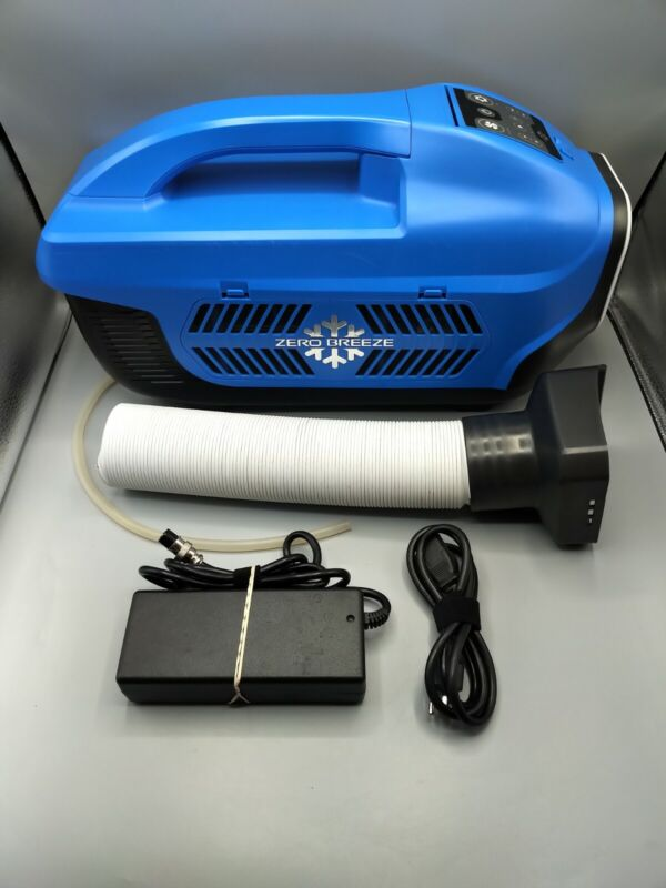 Zero Breeze Portable Air Conditioner (Blue) - TESTED & WORKING
