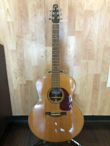 Seagull Maritime SWS Mini Jumbo QI Acoustic Electric Guitar w/ Case