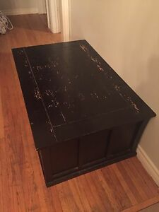 Craft project!  Large wood chest