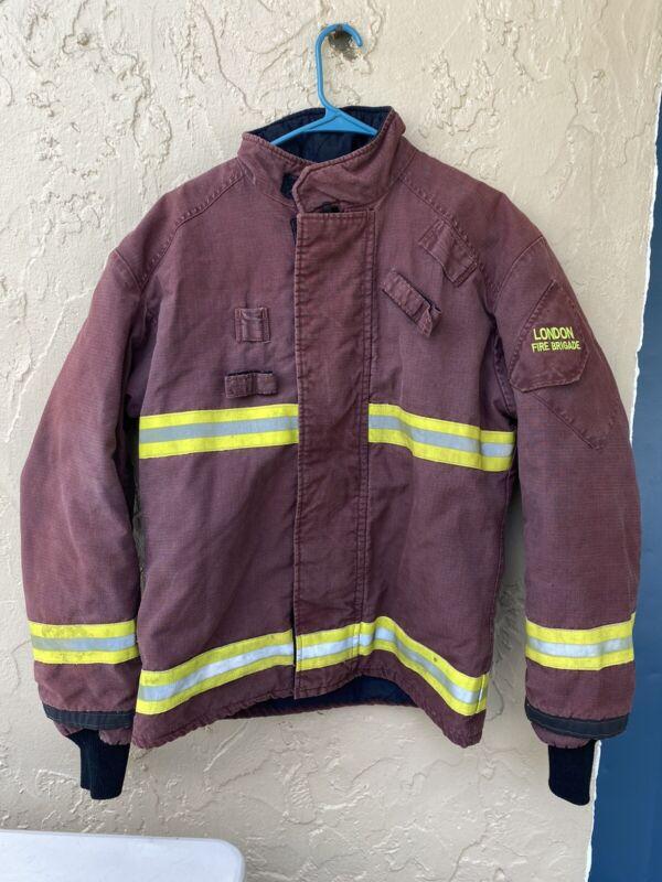 Lion apparel London Fire Brigade Firefighter Jacket ? Vintage