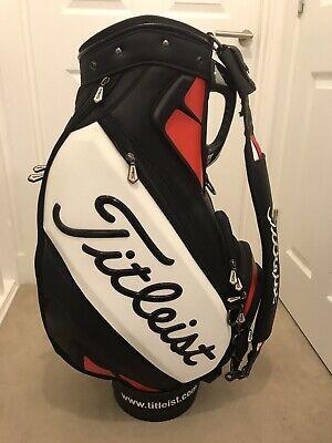 Titleist Tour Bag. Excellent Condition + Hood & Strap.