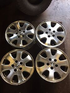 4 original Honda Alloy Rims 16 inch 5x114.3