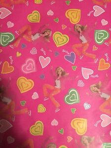 4 packs of 3 Barbie Wrapping Paper Kitchener / Waterloo Kitchener Area image 2