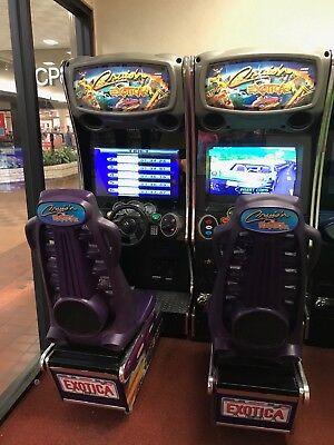 (Cruisin Exotica Arcade Games linked pair)