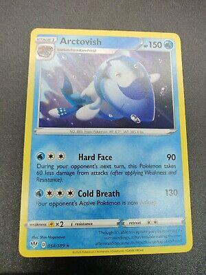 x4 Arctovish Rare Pokemon SS03 Darkness Ablaze M//NM 054//189