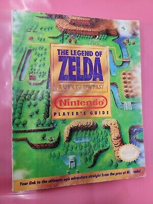 The Legend Of Zelda A Link To The Past Nintendo Player's Guide