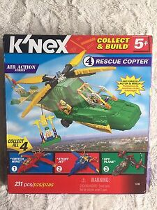 K'nex Rescue copter #4 of 4 in the Air Action series New in box