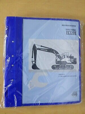 Volvo Construction Equipment Service Manual Ec220e Service Manual