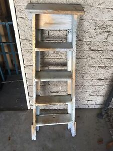 Painted wooden ladder South Perth South Perth Area Preview
