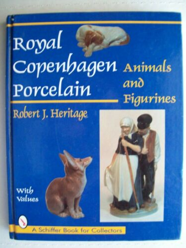 Antique Royal Copenhagen $$$ id Price Guide Collector