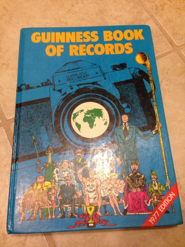 1977 Guinness Book Of Records - Hard Bound