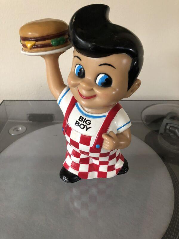 Bobs Big Boy Bank Figure with Double Burger Elias Brother Restaurants 1999 Funko