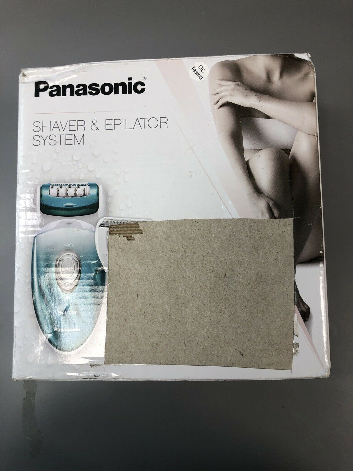 Panasonic ES-ED70-G Multi-Functional Wet/Dry Shaver and Epil