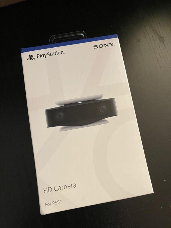 PS5 HD Camera 1080P Sony PlayStation 5 Factory Sealed Brand New in Box NIP NIB