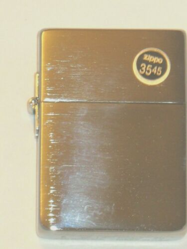 New ZIPPO Windproof USA Lighter  1935.25 Replica With Out Slash Brushed Chrome