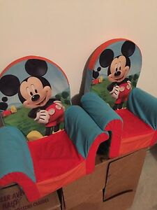Mickey Mouse children plush chairs