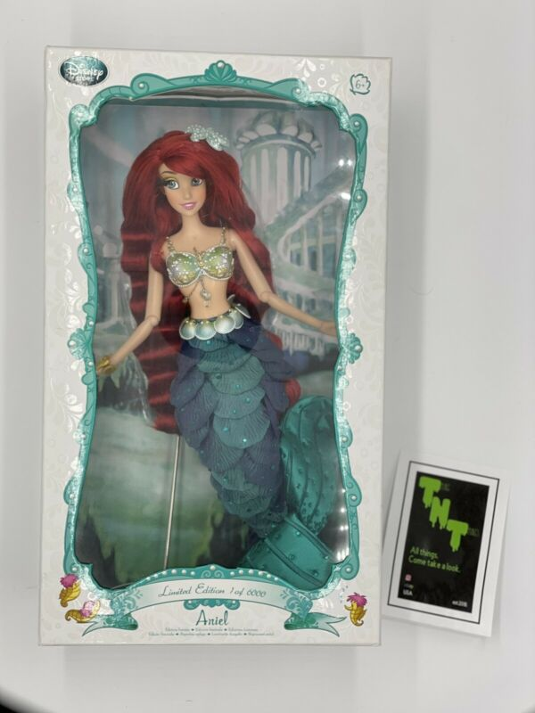 """Disney Store Little Mermaid Ariel Limited Edition Doll 17"""" Brand New, Untouched"""