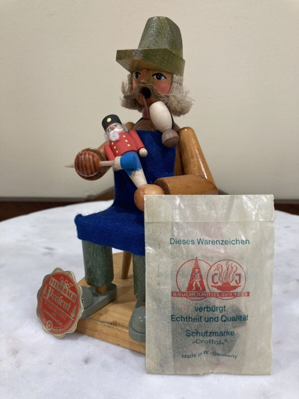 Rare Vintage Steinbach Toy Maker Smoker Made In West Germany