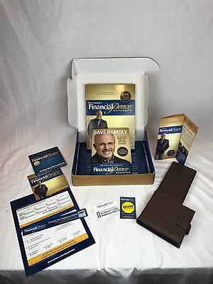 Dave Ramsey Financial Peace University Membership Kit CD/Books Budgeting FPU
