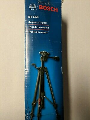 Super Nice probablly never used  Level Bosch BT150 Compact Tripod Camera Laser