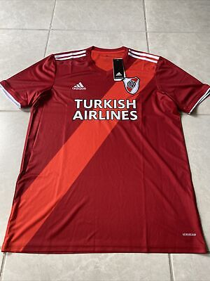 ADIDAS River Plate Away Soccer Jersey  2020 2021  Argentina mens nwt size L image