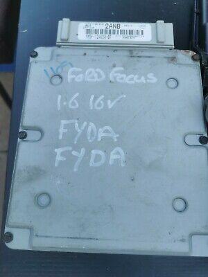 Ford Focus MK1 2002-2005 1.6 16V Petrol FYDA ECU Kit BCM Transponder Ignition,