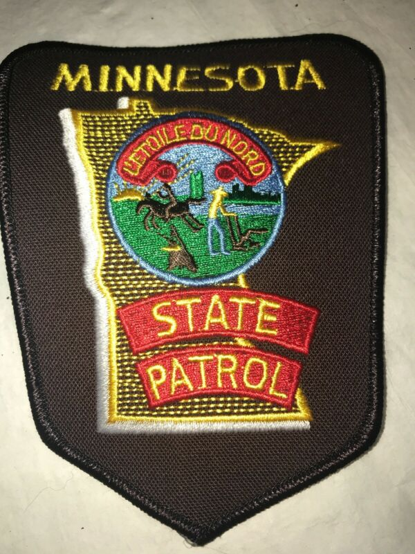 Minnesota State Patrol Patch