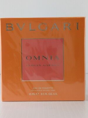 BVLGARI OMNIA INDIAN GARNET PERFUME EDT spray .5 oz 15...