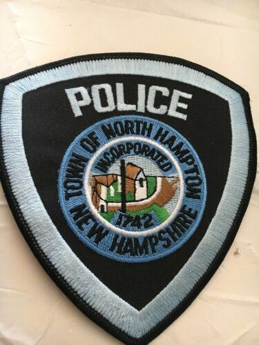 North Hampton New Hampshire Vintage Police Patch version 3