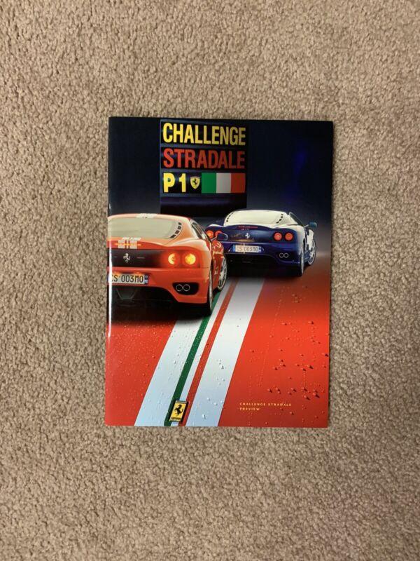 Ferrari Challenge Stradale Preview Brochure