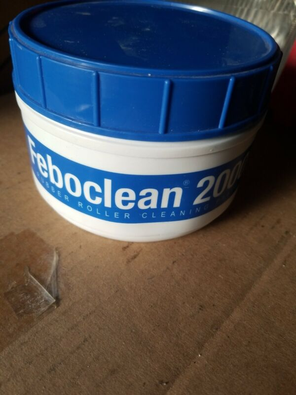 Feboclean 2000 Rubber Roller Cleaning Paste 2LB