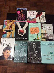 Books and novels 2 for $1. Great condition!
