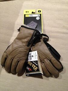 Leather gloves W's small or youth XL - Burton