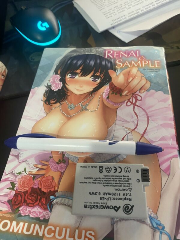 Renai Sample Doujinshi Manga English  From Fakku Books