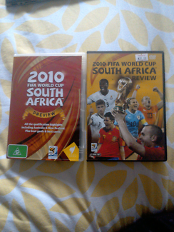2010 FIFA world cup South Africa preview and review DVDs