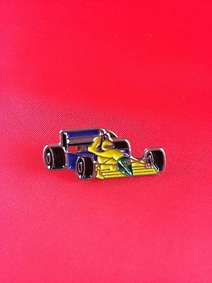 Formel 1 Rennwagen Pin Badge F1 Benetton