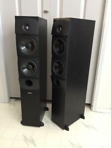 Energy EXL-25 tower speakers —- near mint