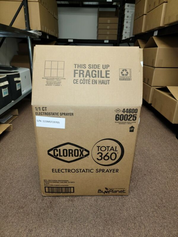 Clorox Total 360 Electrostatic Sprayer - Brand New - Most Recent Version