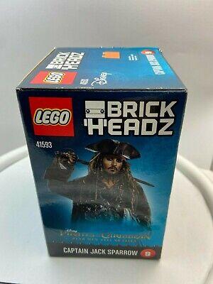 LEGO BrickHeadz Disney Pirates of the Caribbean Captain Jack Sparrow 9 # 41593