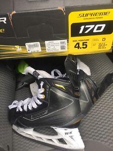 Jr hockey skates size 4.5