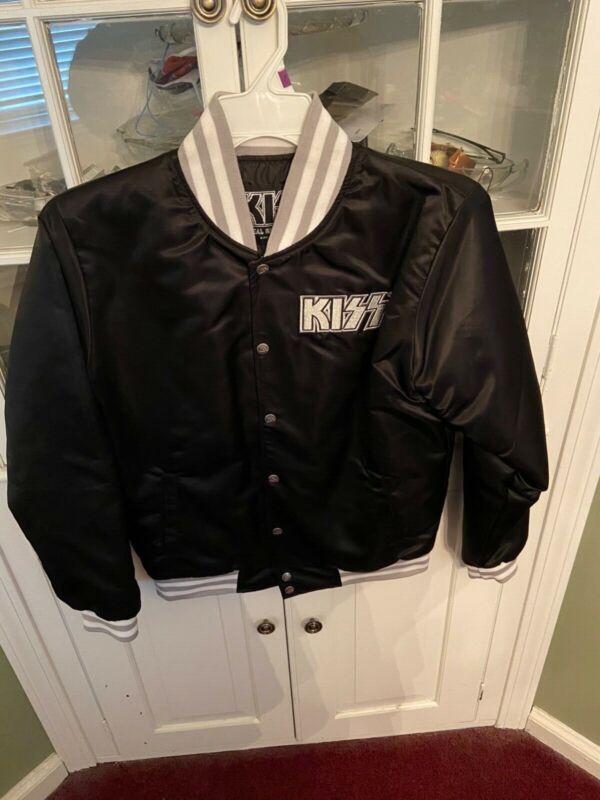 Kiss Army Satin Jacket size Small NEVER WORN