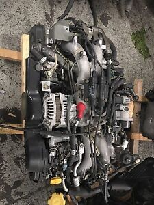 Subaru Legacy, Outback, Forester, Impreza replacement engine
