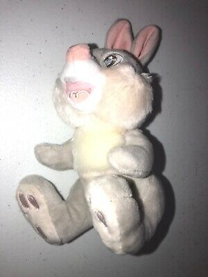 "Disney Baby Thumper Bunny From Bambi 7.5"" Plush Soft Stuffed Toy"