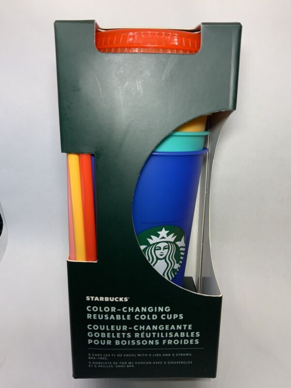 STARBUCKS COLOR CHANGING CUPS SUMMER 2020 CHOOSE YOUR FAVORITE CUP!!!