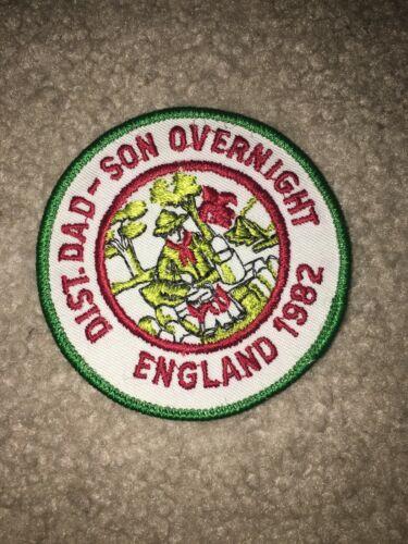 Boy Scout Mayflower District 1982 England Dad Son Transatlantic Council Patch