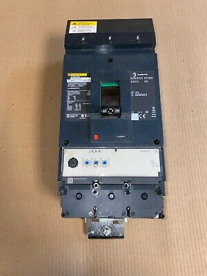 New Square D Lja Lja36400u31x 3 Pole 400 Amp 600v Powerpact Circuit Breaker Flaw
