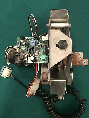 Spinna Winna Redemption Arcade Coin Chute, Motor and PCB - Untested