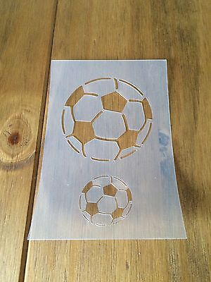 Football Mylar Reusable Stencil Airbrush Painting Art Craft DIY Home Decor