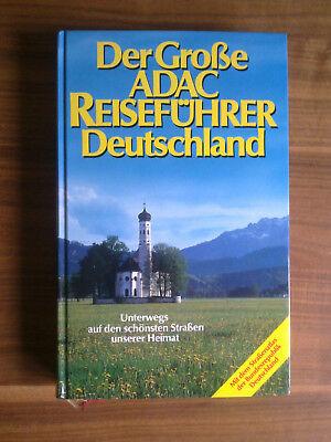 Der große ADAS Reiseführer Deutschladn rar 1984