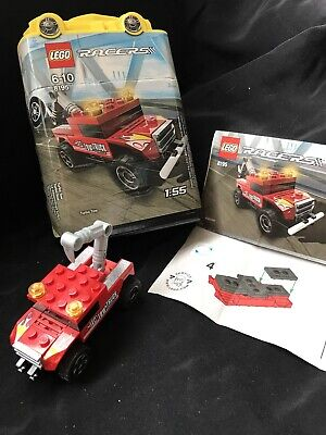 Lego Racers 6-10yrs, 8195 Ed's Turbo Tow Truck In Handy Box + Instructions